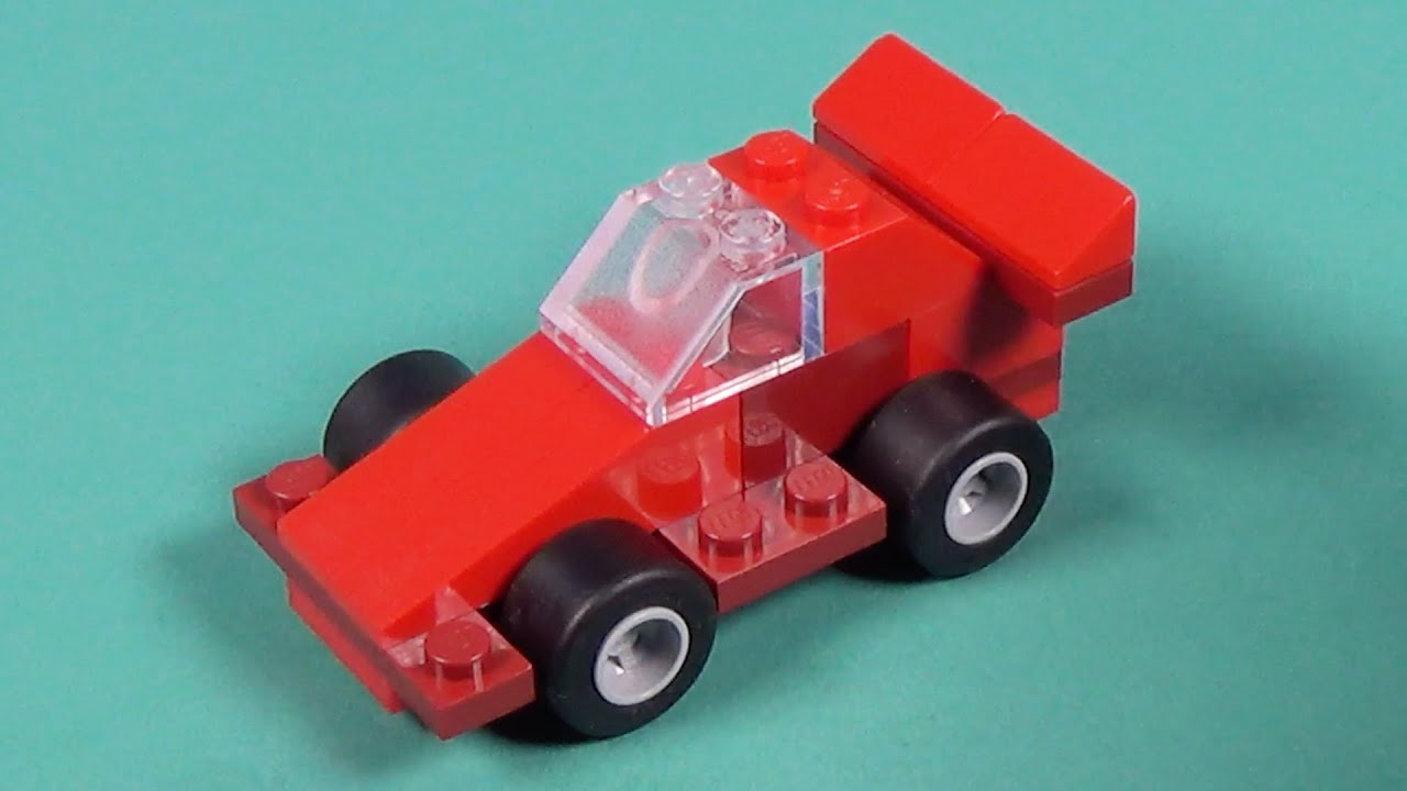 Lego Mini Race Car Building Instructions Lego Classic 10692 How