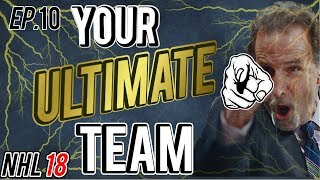 NHL 18 HUT Player Reviews | TALLEST GOALIE IN HOCKEY, Tavares, Outdoor Crosby Your Ultimate Team #10