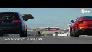 Ferrari 812 Superfast VS Brabus 800 E 63 S Estate (quarter mile)