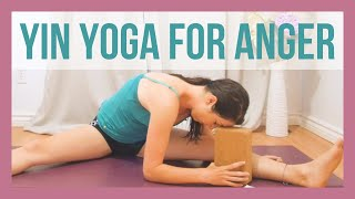 Yin Yoga to Release Anger - Liver Meridian Yin Yoga Affirmations