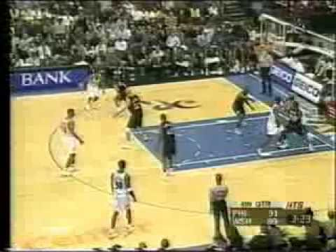Rod Strickland sick move to score