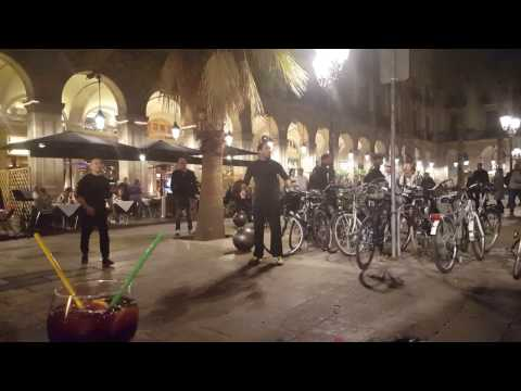 Street Acrobats of Barcelona