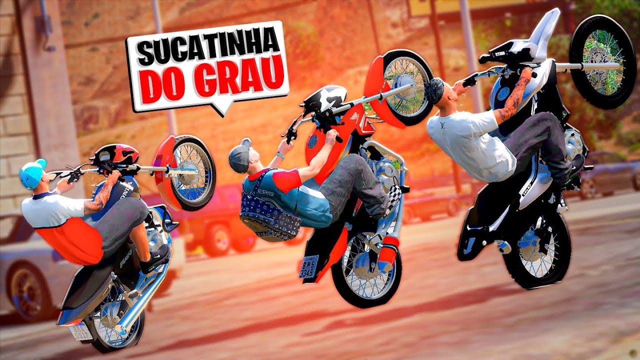 DICHAVEI A TRASEIRA DE TODAS AS MOTOS DO LEILÃO 🔥 | GTA 5 VIDA REAL #172