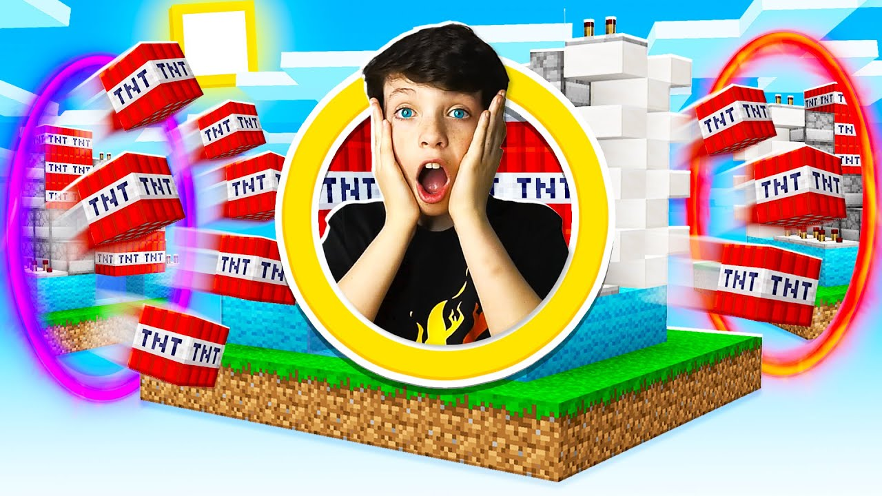 5 Ways to PRANK Your Little Brother in TNT Wars!