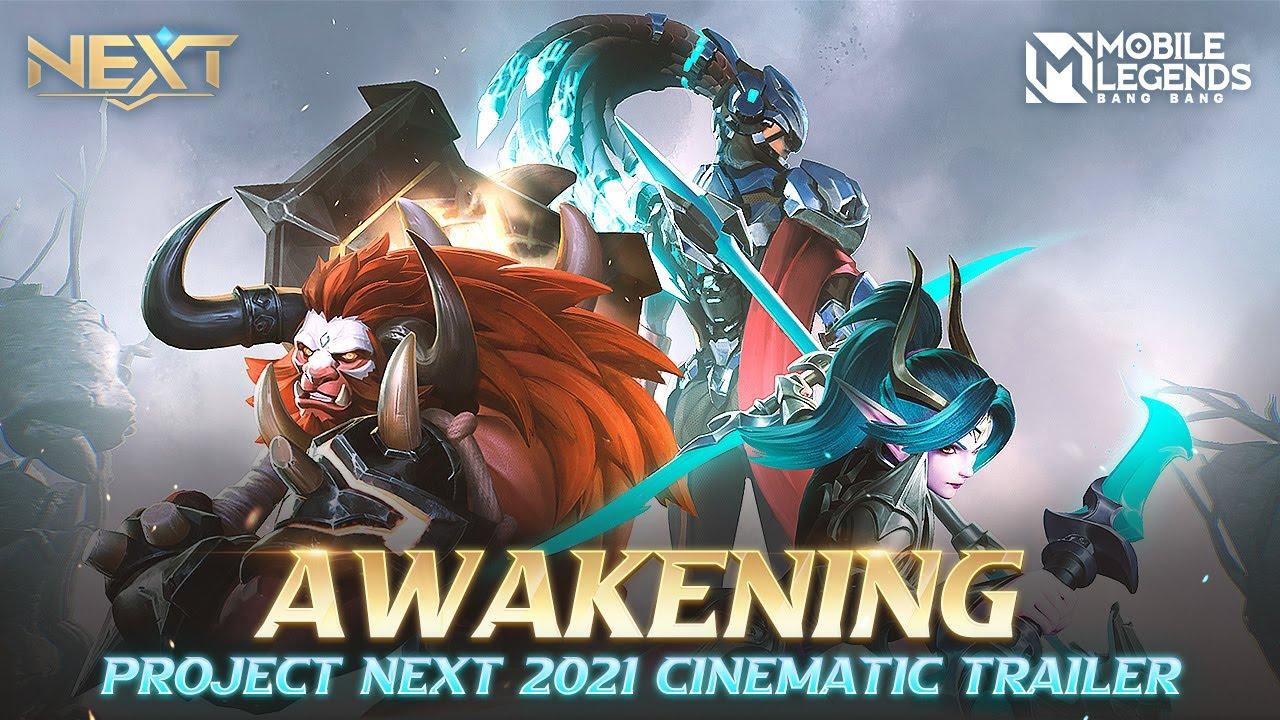 Awakening   Project Next 2021 Cinematic Trailer   Mobile Legends: Bang Bang