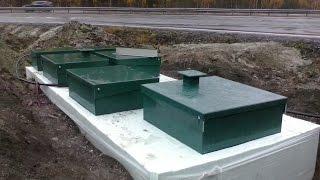 видео ТОПАС-С - установка очистки сточных вод для загородного дома, дачи, коттеджа