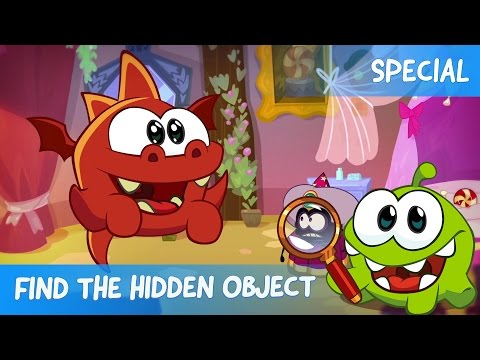 Find the Hidden Object Ep. 5 - Om Nom Stories: A Tangled Story