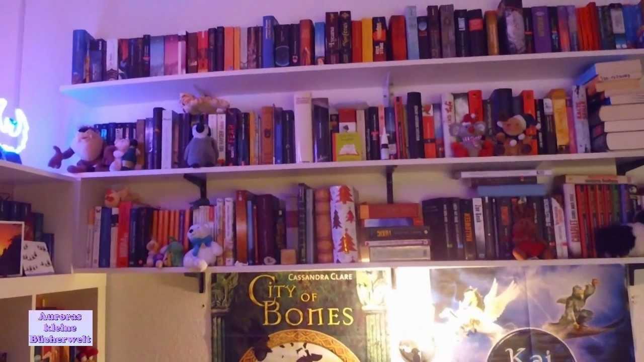 Mini-Wohnungstour: Meine Bücherregale + meine kleine Hausbar - YouTube