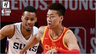 China vs Phoenix Suns - Full Game Highlights | July 12, 2019 NBA Summer League