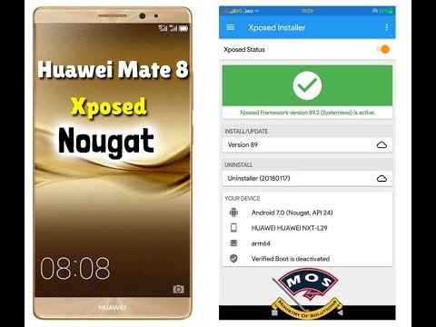 Huawei Mate 8 Xposed Framework For Nougat Installation Guide
