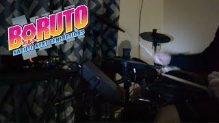 Gambar cover 【BORUTO - ボルト OP5】Fujifabric - Golden Time - Drum Cover