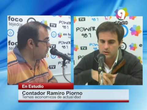 Programa 250  Contador Ramiro Piorn Pago Juicio A Jubilados Y Blanqueo De Capitales