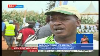 Maonyesho ya kilimo katika eneo la Nyeri
