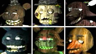 The Return To Freddy S 3 All Animatronics All Jumpscares