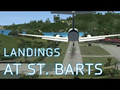 FSX Landings at St.Barts | On-Going Series - Episode 40