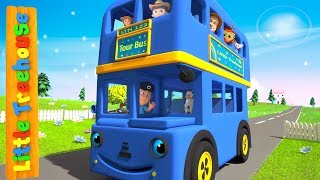 Wheels On The Bus Cartoons for Children - Live Stream