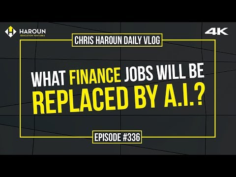 【4K】What Finance Jobs Will Be Replaced by A.I.?