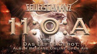 """FEUERSCHWANZ - 11OA - """"Das Elfte Gebot"""" Albumrelease Online Open Air"""