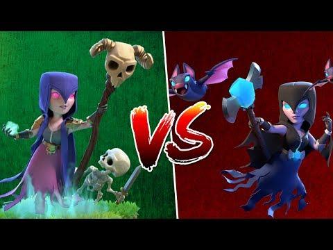 NACHTHEXE vs. HEXE! || CLASH ROYALE || Let's Play Clash Royale [Deutsch German]