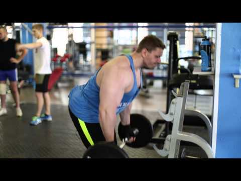 Тренировка на широчайшие мышцы спины. Арсен Терентьев