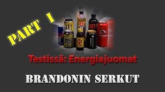 Testissä: Energiajuomat - part 1
