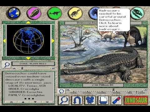 "3D Dinosaur Adventure ""Deinosuchus: Big as a Dinosaur"" Page"