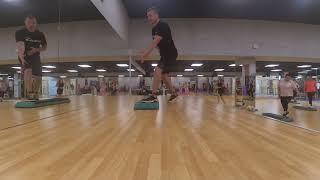 Степ аэробика. Step aerobic (целый урок)