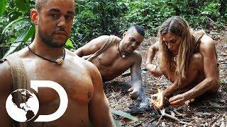 Ex-soldado se siente desmoralizado por mujer   Supervivencia al desnudo   Discovery Latinoamérica