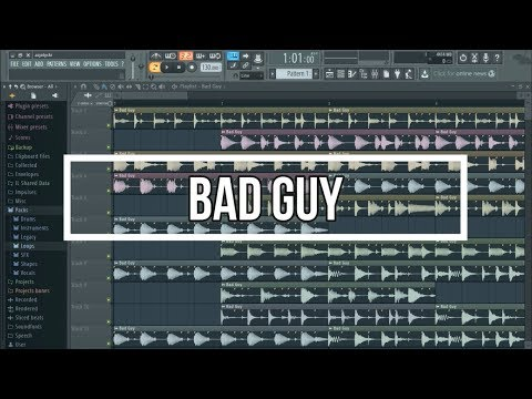 BAD GUY but on Google Translate and Song Maker!