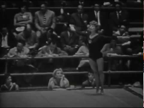 1960 Olympics gymnastics URS Women FX & UB