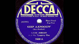 Louis Jordan And His Tympany Five - Keep A-Knockin