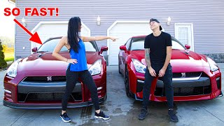Her GTR Destroys MINE!