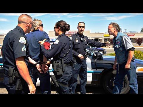 Download Cops Pull Over Hells Angels - Watch What Happens Next!