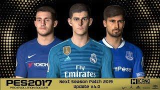 PES 2017 | Next Season Patch 2019 | Update v4.0
