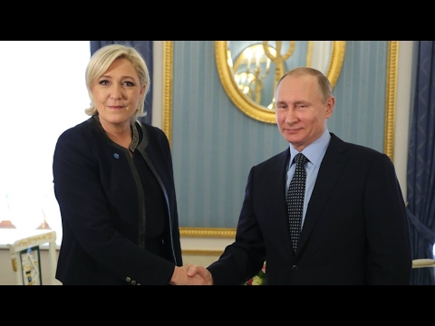 Russia: Le Pen meets Putin ahead of French presidential election