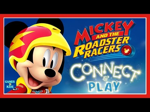 Mickey And The Roadster Racers Connect Play Children S Games Disney Junior App For Kids Youtube