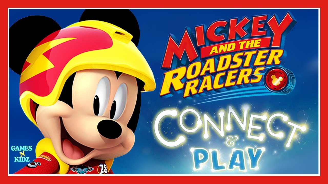mickey and the roadster racers connect play childrens games disney junior app for kids - Childrens Games Free Disney