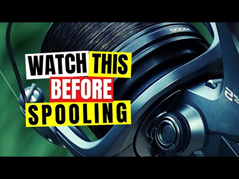 How To Spool Up Carp Reels And Remove Line Twist