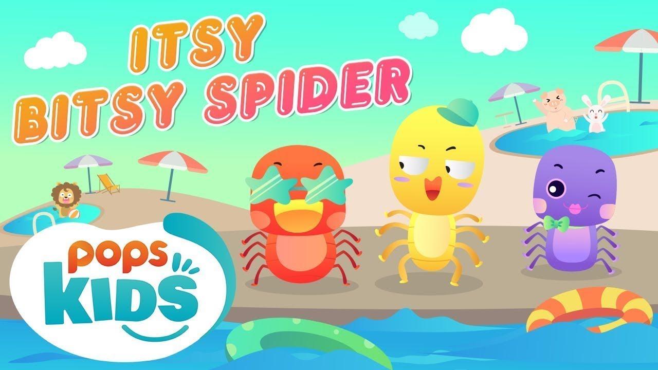 Itsy Bitsy Spider Ca Nhạc Thiếu Nhi Vui Nhộn | Mầm Chồi Lá Tiếng Anh Tập 3