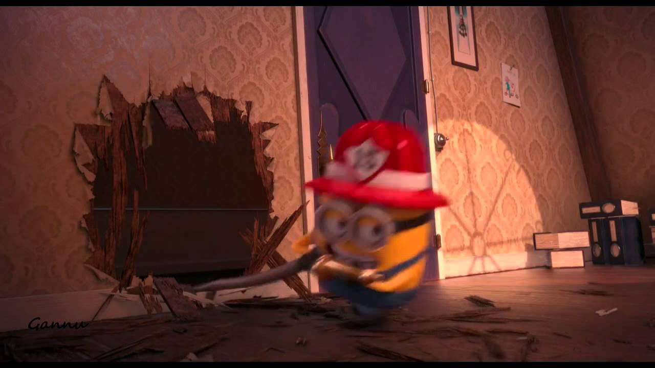 minions fire servicedespicable me 2 youtube
