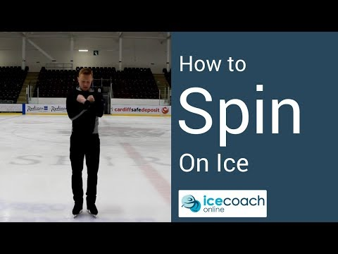 Learn How to Spin On Ice the Easy Way for Beginners!