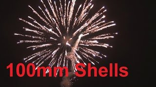 100mm Shells Vulcan + Zink 60mm Kometen [Full HD]