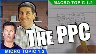 Production Possibilities Curve- Macro Topic 1.2 (Micro Topic 1.3)