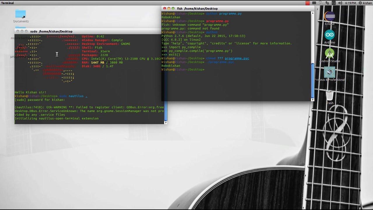 How to Convert python  py programme to  pyc