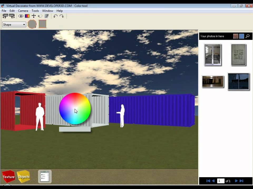 Shipping container house design software tutorial 2 for Shipping container home design software free