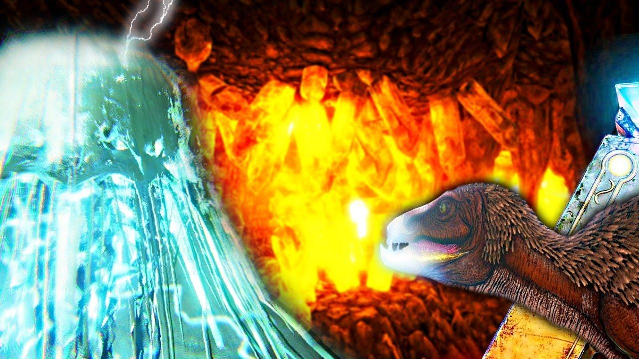 ARK SURVIVAL EVOLVED - CNIDARIA POWERPLANT MELTDOWN, PEGOMASTAX, &  UNDERWATER CAVE LOCATION Gameplay