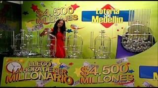 Sorteo de la Lotería de Medellín número 4240 - 17/10/2014