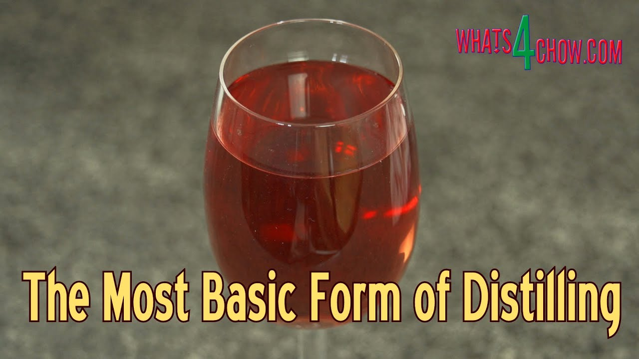 Freeze Distillation - Ice Distillation - The Simplest Form of Distilling Alcohol