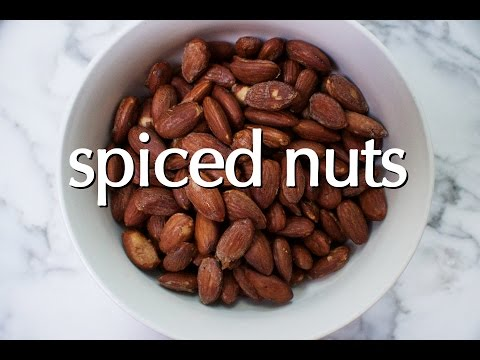 Dinner Party Tonight Shorts: Spiced Nuts