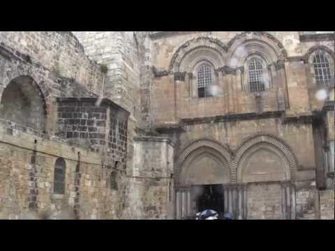 Snow in Old Jerusalem